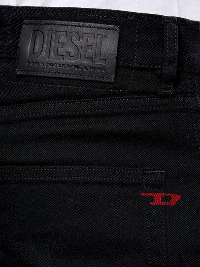 Diesel - D-Strukt 0688H, Nero/Grigio scuro - Jeans - Image 4