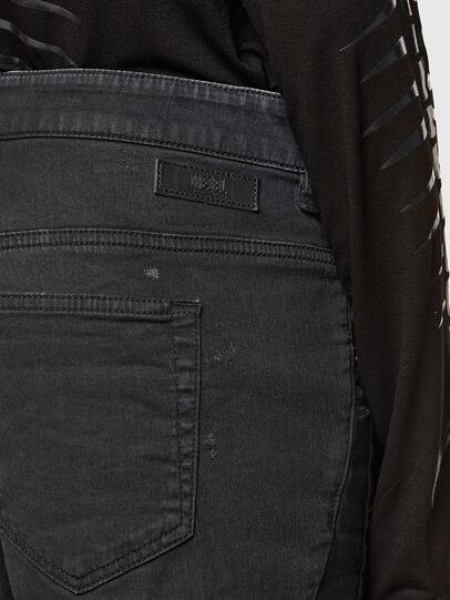 Diesel - FAYZA JoggJeans® 069QL, Nero/Grigio scuro - Jeans - Image 4