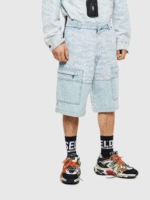 D-LUK-SHORT, Blu Chiaro - Shorts