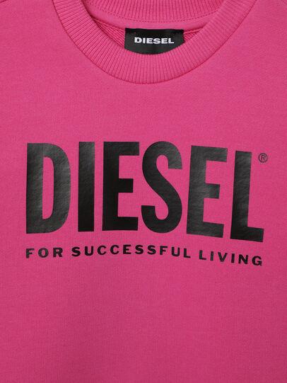 Diesel - SCREWDIVISION-LOGOB-, Rosa - Felpe - Image 3