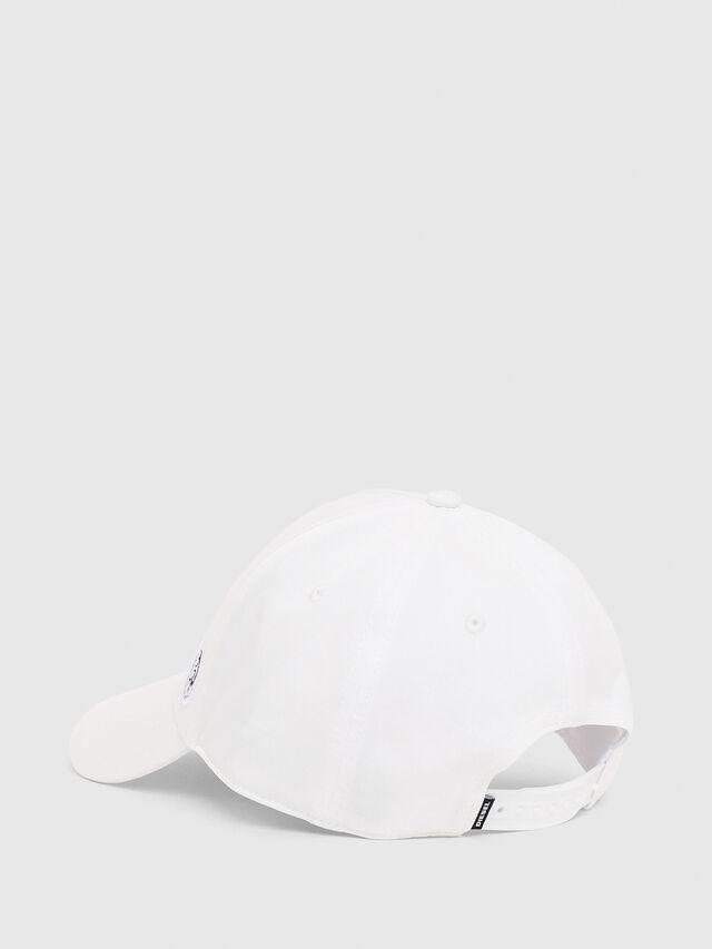Diesel - CINDI-MAX, Bianco - Cappelli - Image 2