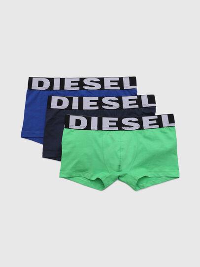 Diesel - UMBX-USHAWNTHREEPACK, Verde/Blu - Underwear - Image 1
