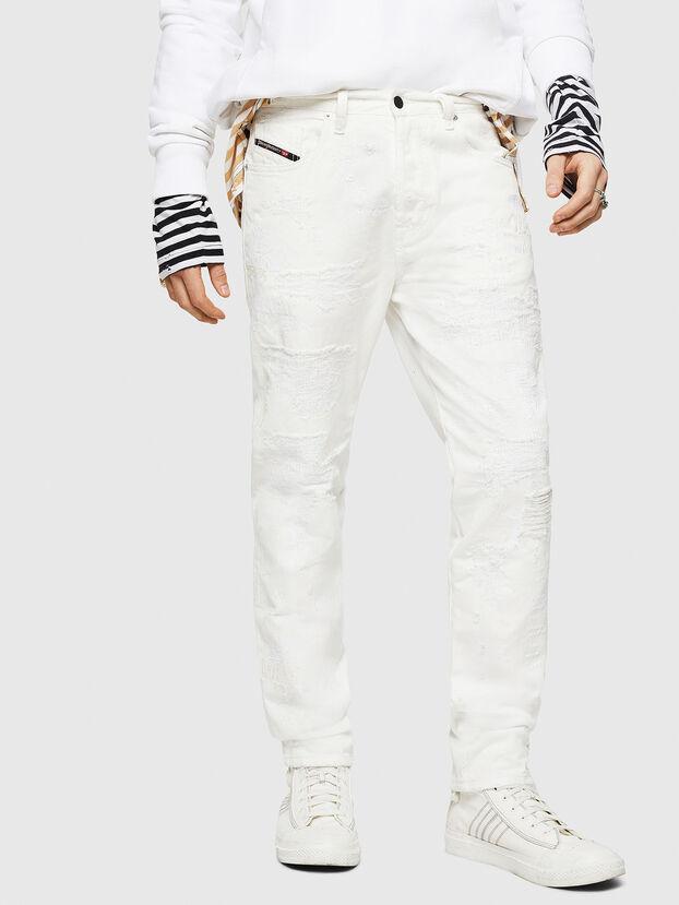 Mharky 069IJ, Bianco - Jeans