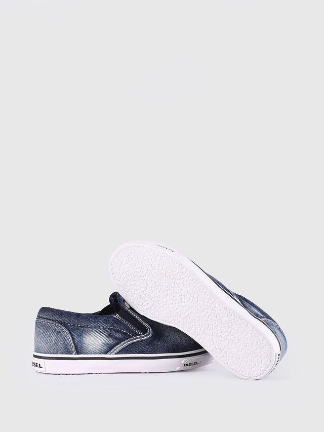 KIDS SLIP ON 21 DENIM YO, Blu Jeans - Scarpe - Image 6