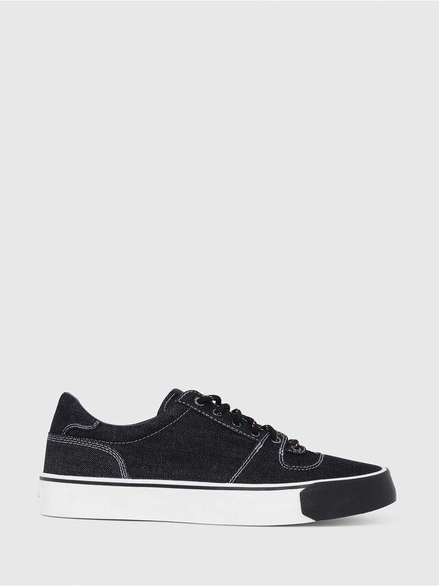 Diesel - S-FLIP LOW, Blu Jeans - Sneakers - Image 1