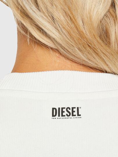 Diesel - F-ANG-R10, Bianco - Felpe - Image 3