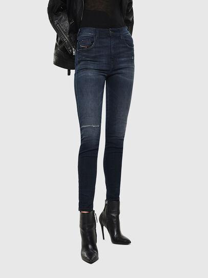 Diesel - Slandy High 0870C, Blu Scuro - Jeans - Image 1
