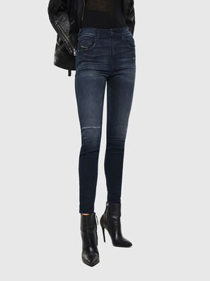 Slandy High 0870C, Blu Scuro - Jeans