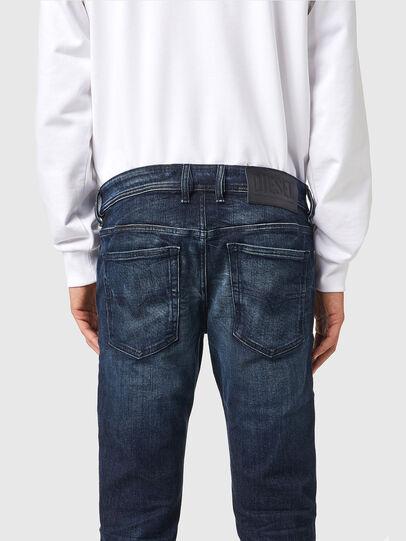 Diesel - Sleenker 069XD, Blu Scuro - Jeans - Image 4