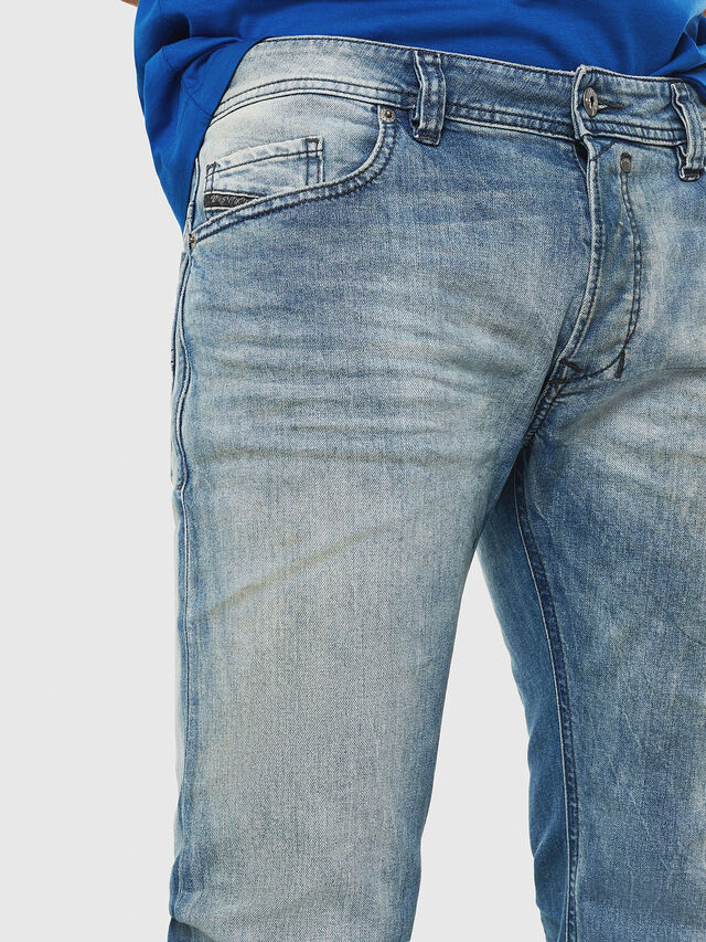 Diesel - Safado C81AP, Blu Chiaro - Jeans - Image 3