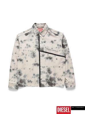 ACW-SH05, Bianco/Nero - Camicie in Denim