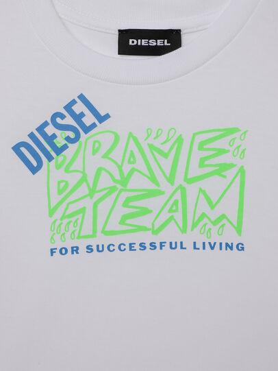 Diesel - TESSOB-R, Bianco - T-shirts e Tops - Image 3