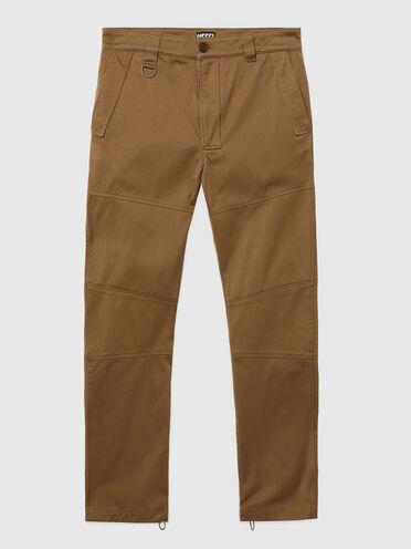 Pantaloni Green Label con struttura a pannelli