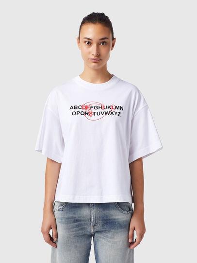 Diesel - T-BOWXY-B1, Bianco - T-Shirts - Image 1
