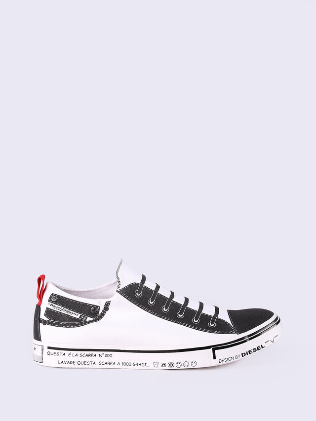 S-DIESEL IMAGINEE LOW SLIP-ON, Bianco