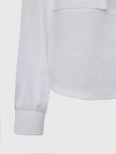 Diesel - C-SUPER-E, Bianco - Camicie - Image 4