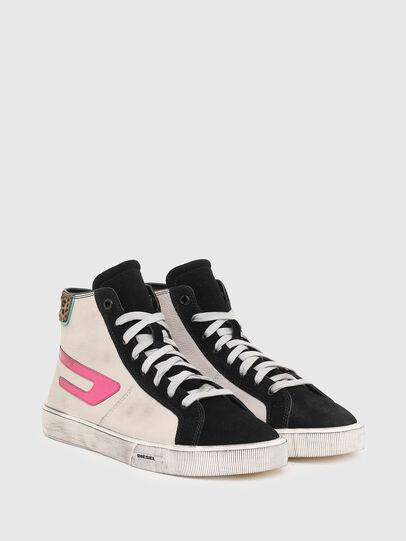 Diesel - S-MYDORI ML W, Rosa/Nero - Sneakers - Image 2