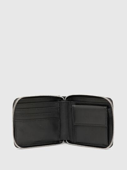 Diesel - HIRESH XS ZIPPI, Nero - Portafogli Con Zip - Image 3