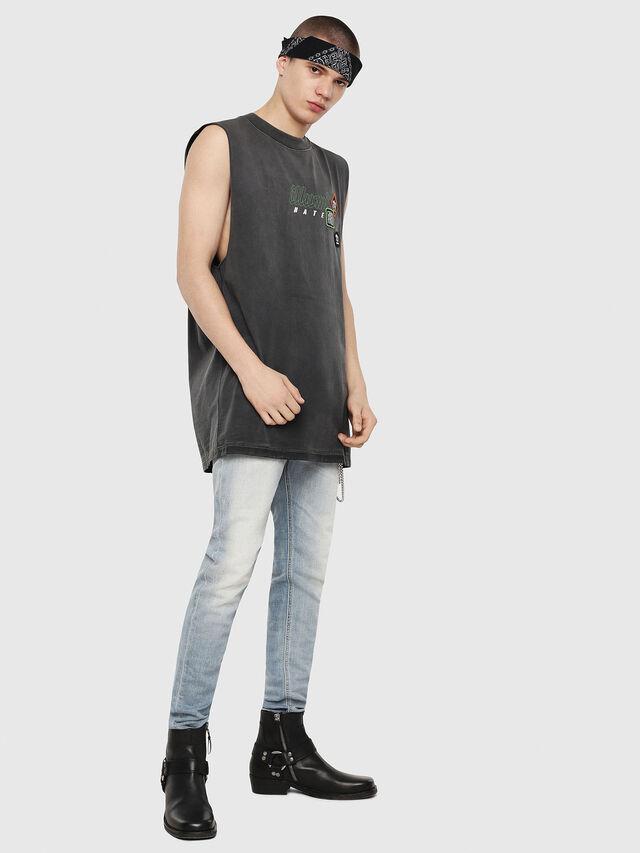 Diesel - T-MINOLESS, Nero - T-Shirts - Image 4
