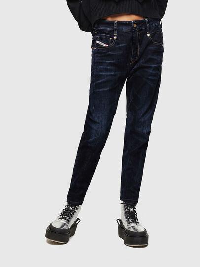 Diesel - Fayza 0091U, Blu Scuro - Jeans - Image 1