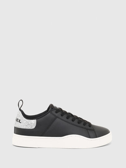Diesel - S-CLEVER LOW LACE W, Nero/Argento - Sneakers - Image 1