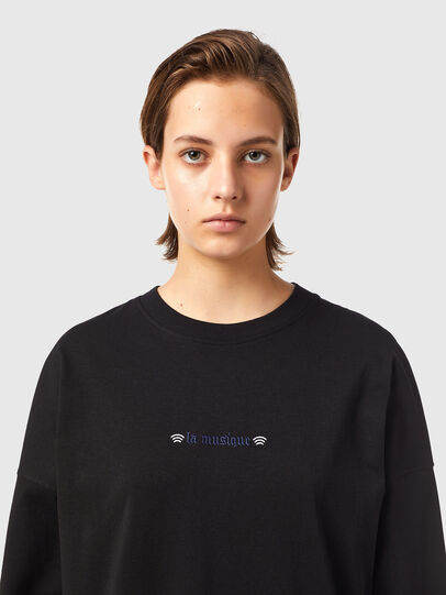 Diesel - T-BLONG, Nero - T-Shirts - Image 3