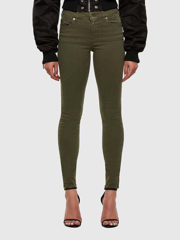 D-Roisin 0096H, Verde Militare - Jeans
