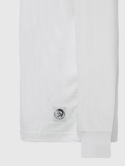 Diesel - T-JUST-LS-MOHI, Bianco - T-Shirts - Image 3