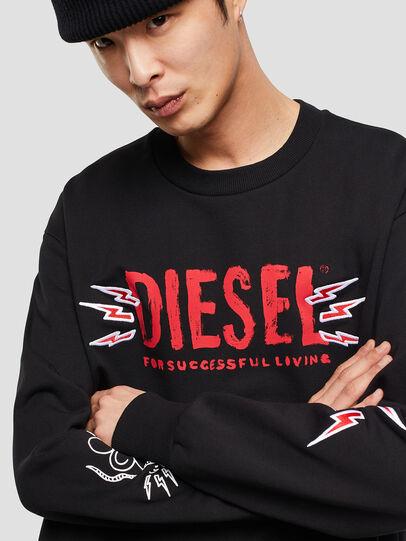 Diesel - CL-SNOR-LITMA, Nero - Felpe - Image 4