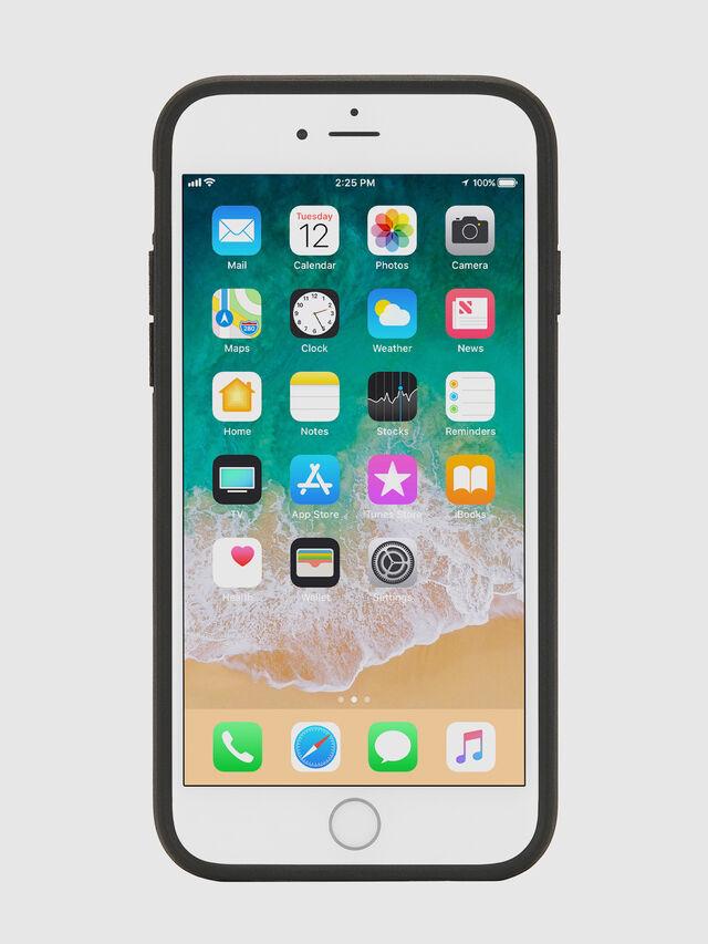 Diesel - MULTI TAPE BLACK/WHITE IPHONE 8 PLUS/7 PLUS/6S PLUS/6 PLUS CASE, Nero - Cover - Image 4