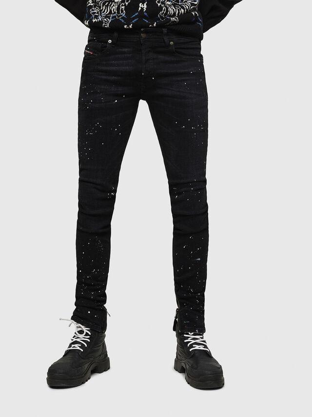 e8ed981314 SLEENKER-X-ZIP 0093X Uomo: Skinny Jeans Colorato | Diesel