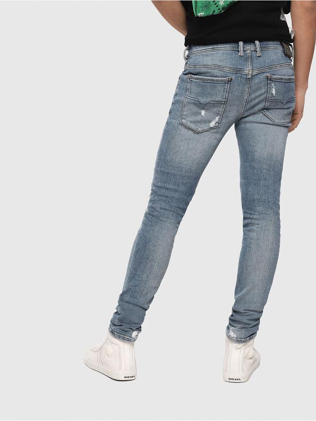 Diesel - Sleenker 086AT, Blu Chiaro - Jeans - Image 2