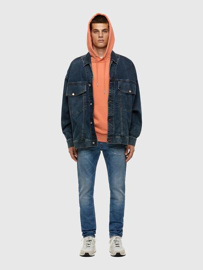 Diesel - Thommer 009ES, Blu Chiaro - Jeans - Image 4