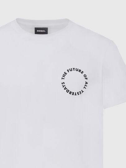 Diesel - T-DIEGOS-X46, Bianco - T-Shirts - Image 3