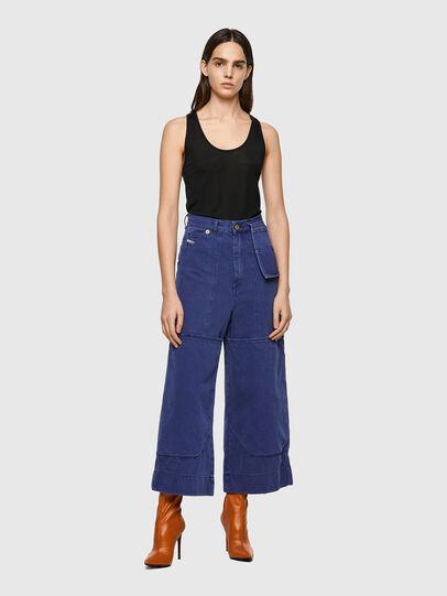 Diesel - D-Luite 0EEAX, Blu medio - Jeans - Image 6