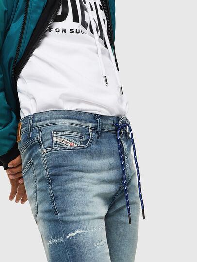 Diesel - D-Vider JoggJeans 069JZ, Blu Chiaro - Jeans - Image 6