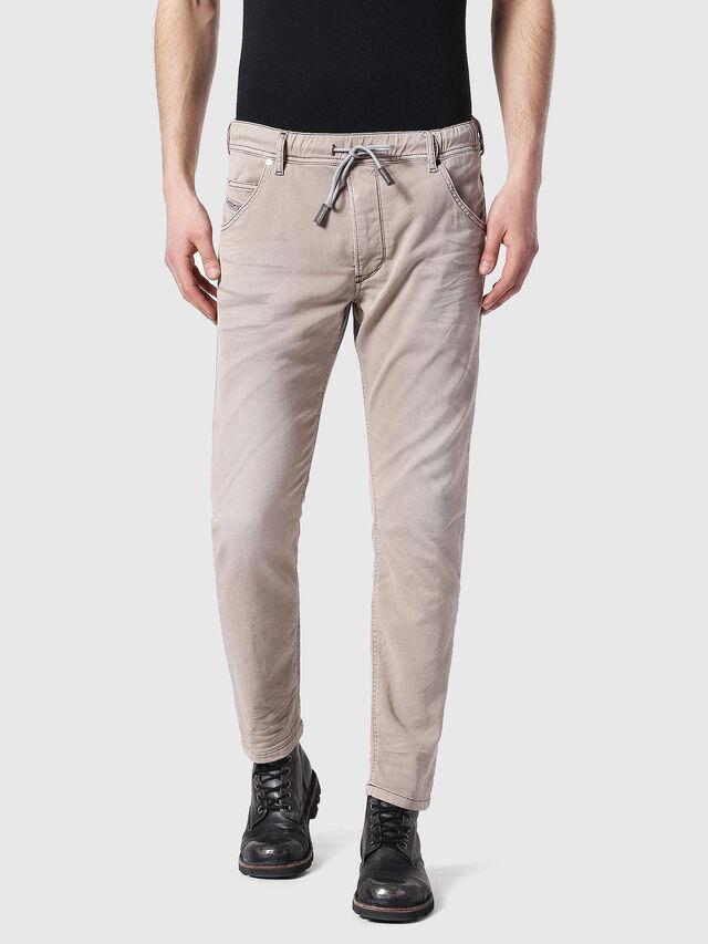 Diesel - Krooley JoggJeans 0670M, Marrone Chiaro - Jeans - Image 1