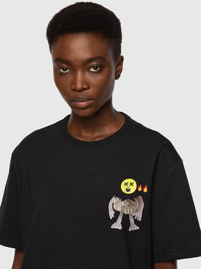 Diesel - T-BOYISH, Nero - T-Shirts - Image 3