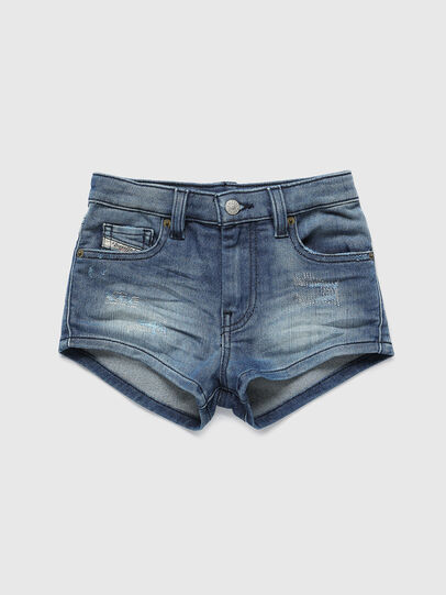 Diesel - PGINGHER JOGGJEANS, Blu medio - Shorts - Image 1