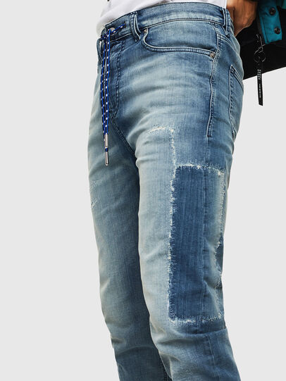 Diesel - D-Vider JoggJeans 069JZ, Blu Chiaro - Jeans - Image 3