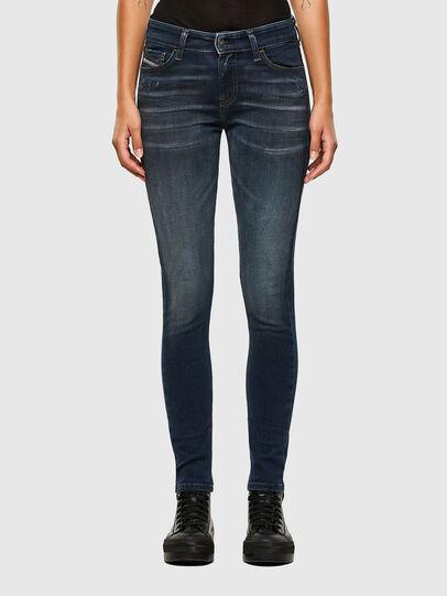 Diesel - Slandy 009JH, Blu Scuro - Jeans - Image 1