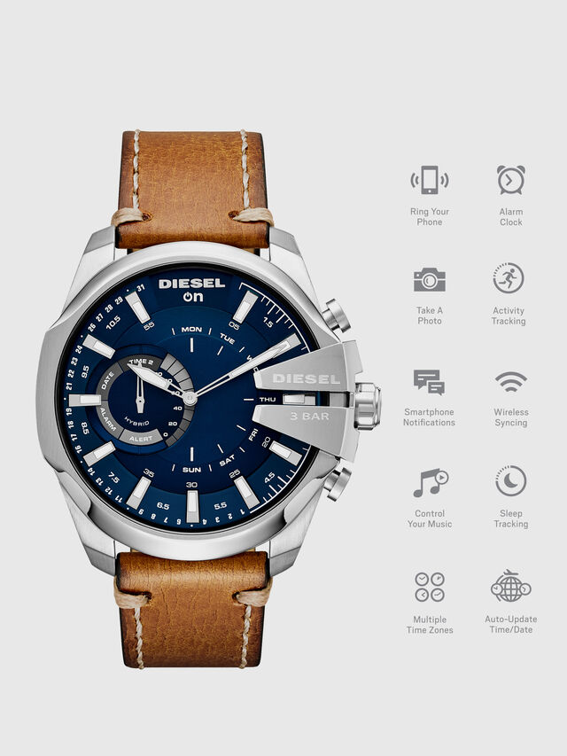 Diesel - DT1009, Marrone - Smartwatches - Image 1