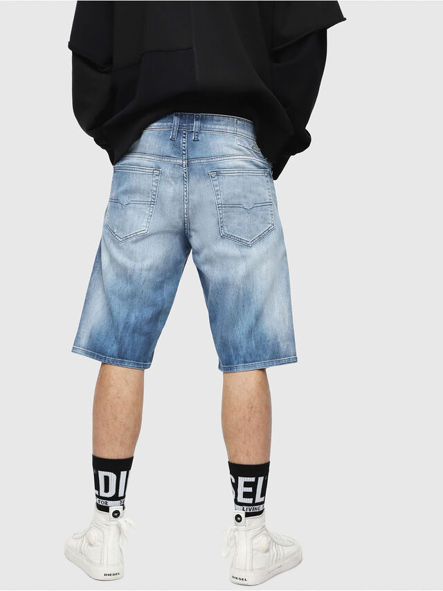 Diesel - THOSHORT, Blu medio - Shorts - Image 2