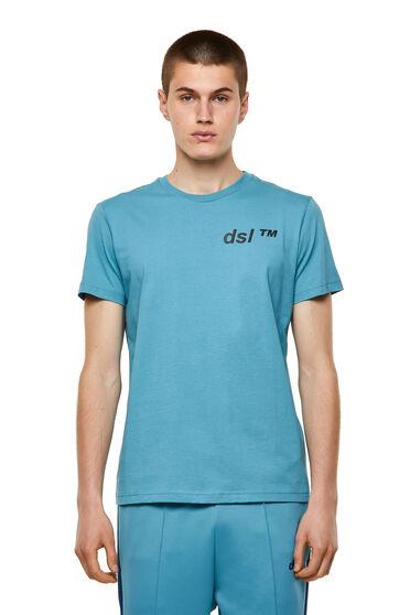 T-shirt in cotone con stampa dsl™