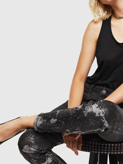 Diesel - D-Ollies JoggJeans 084AZ, Nero/Grigio scuro - Jeans - Image 3