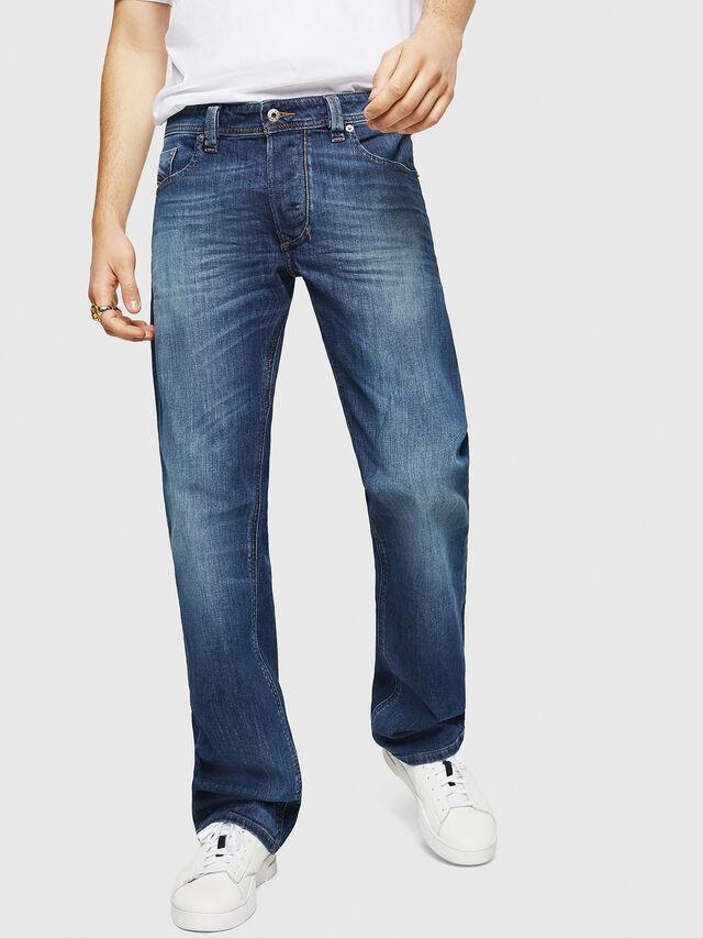 Diesel - Larkee C89AR, Blu Scuro - Jeans - Image 1