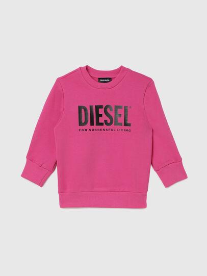Diesel - SCREWDIVISION-LOGOB-, Rosa - Felpe - Image 1