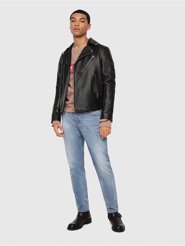Diesel - Larkee-Beex 081AL, Blu Chiaro - Jeans - Image 5