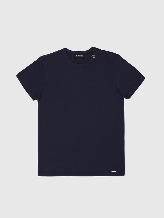 Diesel - TOCLE, Blu Scuro - T-shirts e Tops - Image 1