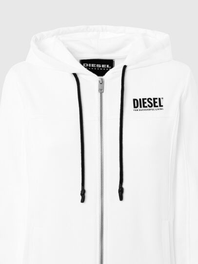 Diesel - UFLT-VICTORIAL-HZ, Bianco - Felpe - Image 3